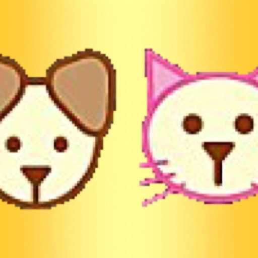 Cat Eat Fish - Dog Love Meat icon