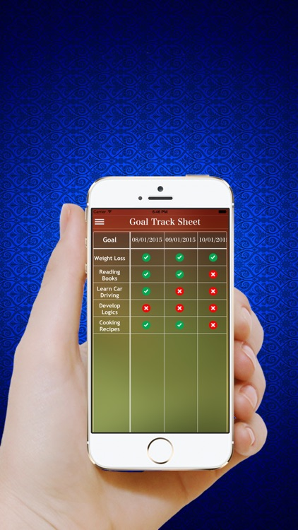 Goal Tracker - Track your Daily Habits,Tasks,Health,Dreams & set personal goals screenshot-4