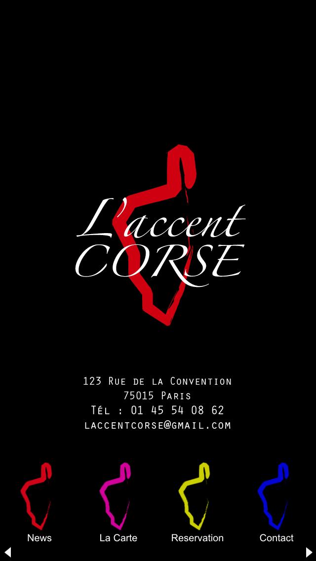 L'accent Corse screenshot one
