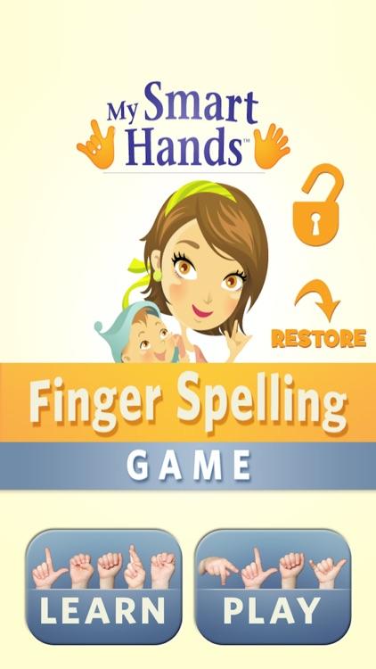 ASL Finger Spelling Game
