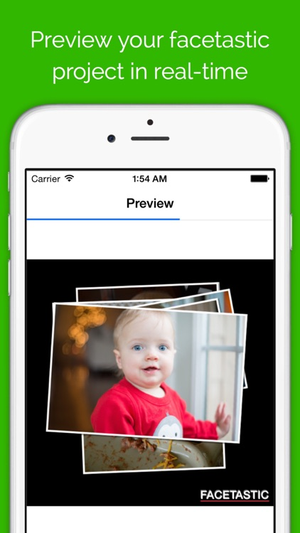Facetastic - slideshow maker to create time-lapse movies by keeping face photos aligned during transitions screenshot-3