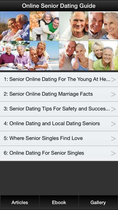 Senior dating guide