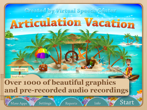 Articulation Vacation screenshot one