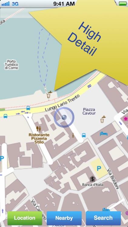 Lake Como No.1 Offline Map