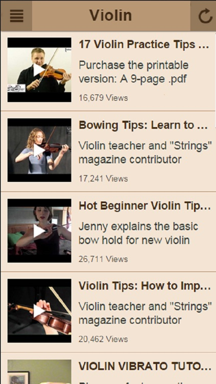 Violin Lessons - Learn How To Play Violin screenshot-3