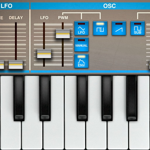 Epic Synth analog synthesizer for AudioBus