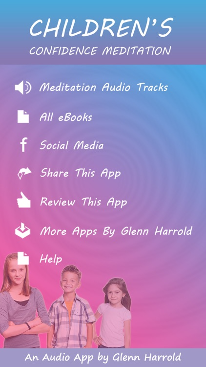 Children's Confidence Meditations by Glenn Harrold: Calming Relaxations for Kids