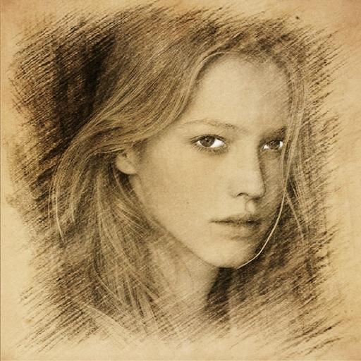 Sketch Guru Pro - Portrait Photo Editor to add pencil & cartoon effects, texts, stickers on pic