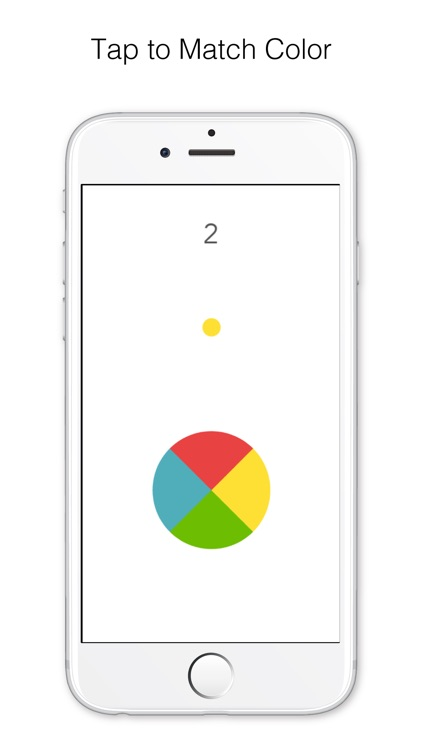 Dot Impossible - tap to rotate matching color