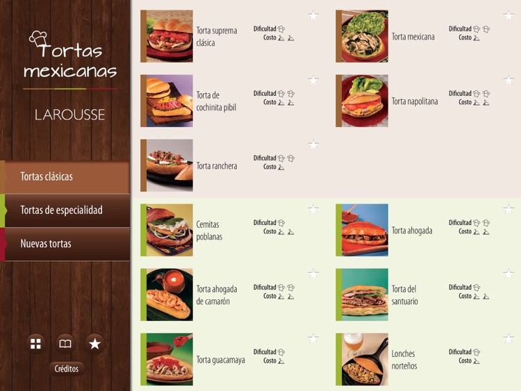 Tortas Mexicanas screenshot-1