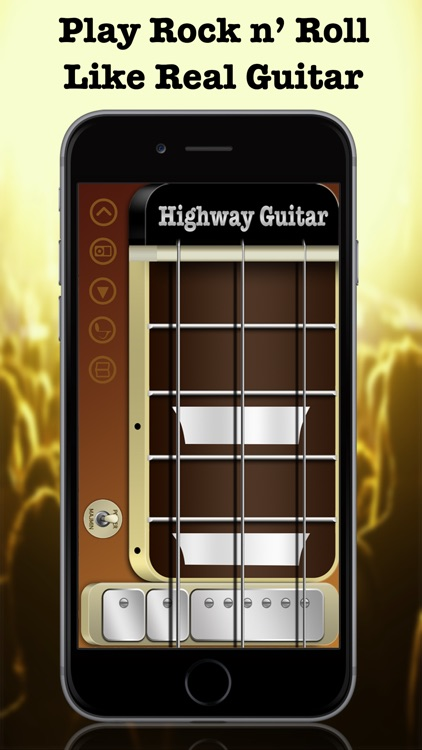 Highway Guitar - The Way You Rock (Virtual Electric Real Pocket Guitars Play Songs Like Your Guitar Hero With Chords Solo Easy Music Simulator Game Tools) screenshot-3