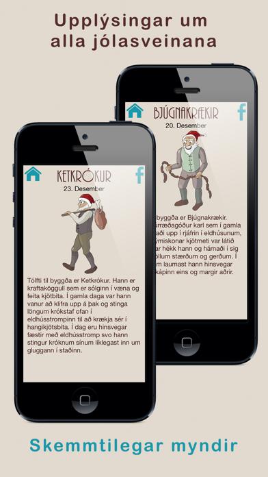 Jóladagatal - Íslensku Jólasveinarnir screenshot two