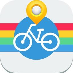 Amsterdam Cycling Map