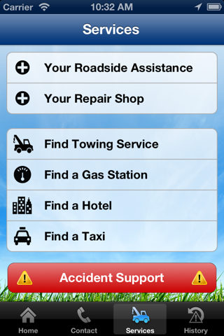 Screenshot of Country-Wide Insurance Company Mobile