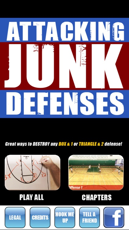 Attacking Junk Defenses: Play To Destroy Any Box & 1 or Triangle & 2 Defense - With Coach Jamie Angeli - Full Court Basketball Training Instruction