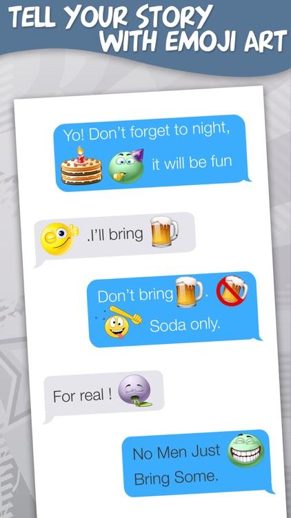 New Emoji Free - Animated Emojis Icons, Fonts and Cartoons - Emoticons Keyboard Art screenshot-3