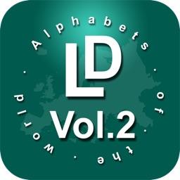LingoDiction - Alphabets Phonics & Pronunciation (English, Irish, Italian, Polish, French & more) Vol.2