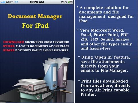 how to download documents on ipad