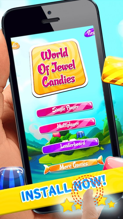 World Of Jewel Candies screenshot-4