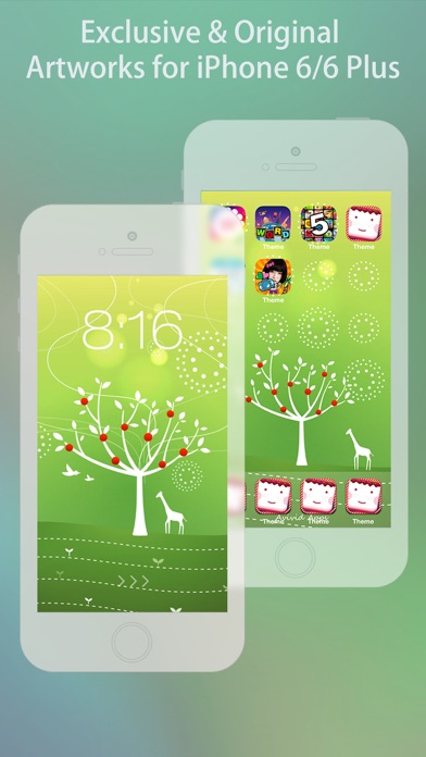 Cool Themes HD for iPhone 6 & 6 Plus - Free screenshot two