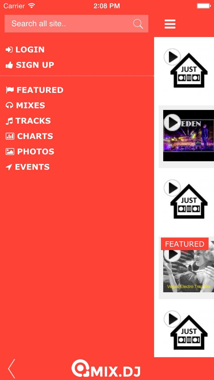 mix.dj Pro Screenshot