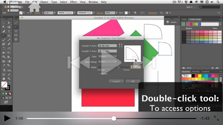 Course For Illustrator CC 101 - Illustrator Basics - Create A Logo screenshot-3