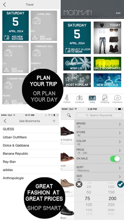 Mod Man - Closet Organizer, Lookbook, and Style Shopping App for Men screenshot-4