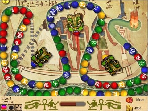 Marble Blast of Egypt на iPad
