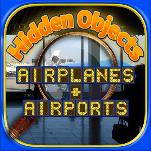 Airports & Airplanes Find Objects - Hidden Object Time & Spot Difference Puzzle Games