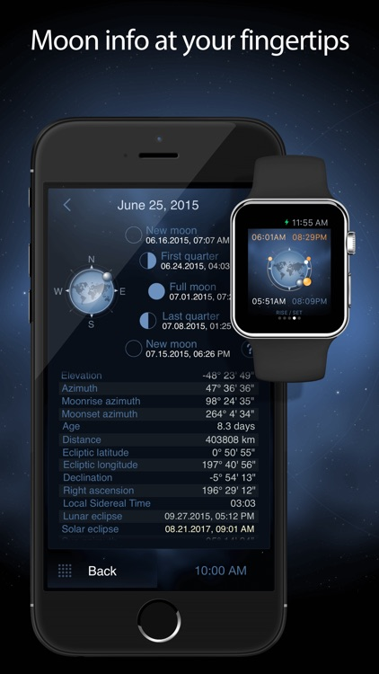 Deluxe Moon Pro - Moon Phases Calendar screenshot-1