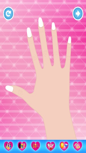 Princess Nail Salon - Nail art design and dress up game for kids on ...