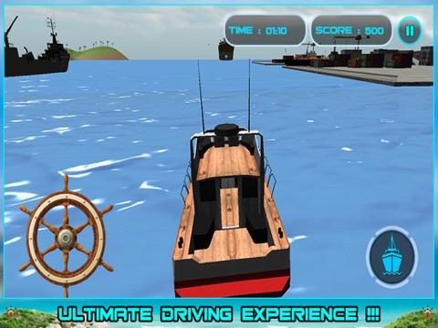 Sailing Cruise Ship Simulator 3D-ipad-2