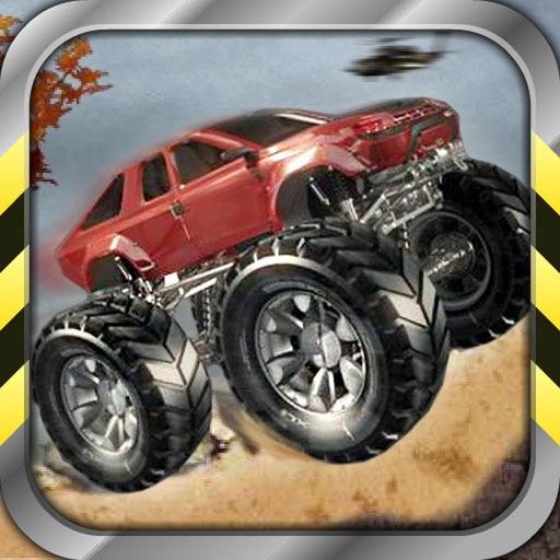 Crazy Monster Truck Racing iOS App