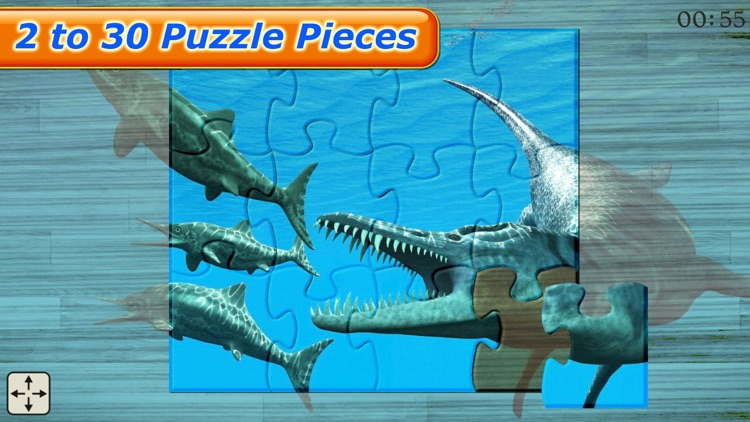 Dinosaur Puzzle - Amazing Dinosaurs Puzzles Games for kids screenshot-4