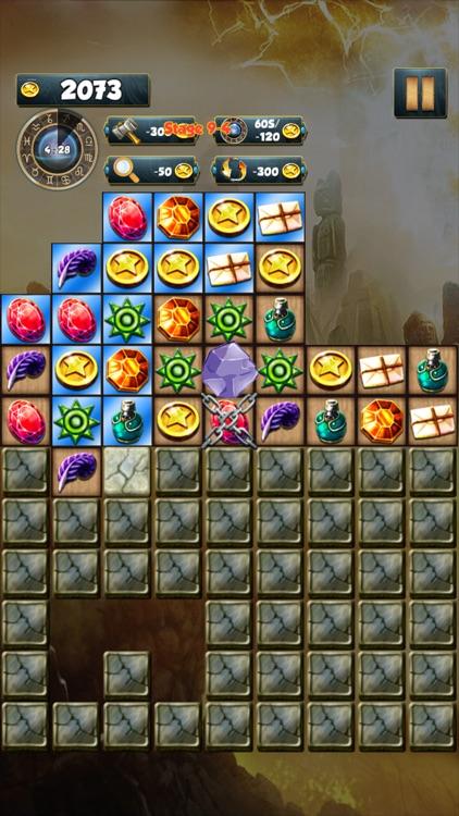 Treasure Quest - Jewels Quest in Egypt - Jewels Digging into the deep screenshot-3