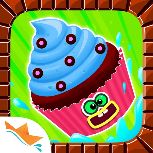 Cupcake Studio - Junior Chef's Dessert Maker Bakery with Baking and Cooking Games