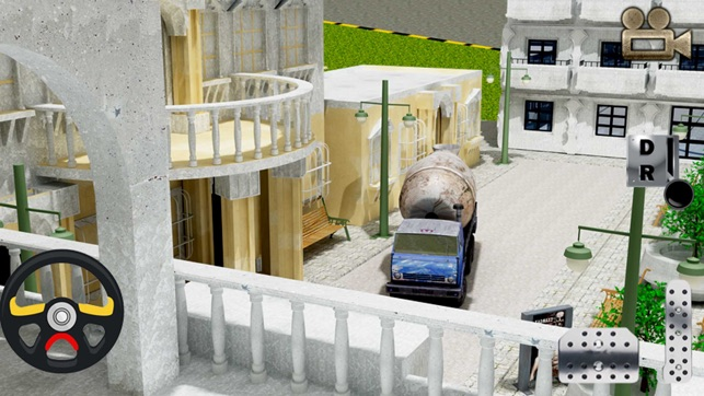 Cement Truck Parking 3D Simulator - Big Rig Construction Car Driving