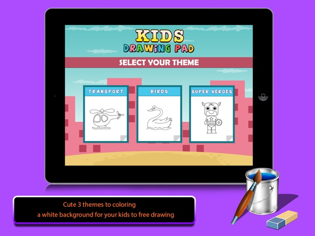 kids drawing pad color draw on the app store