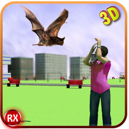 летучая мышь симулятор 3d атаки - летучая лисица бой