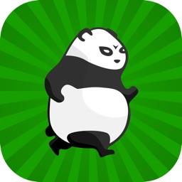 熊猫吃竹子