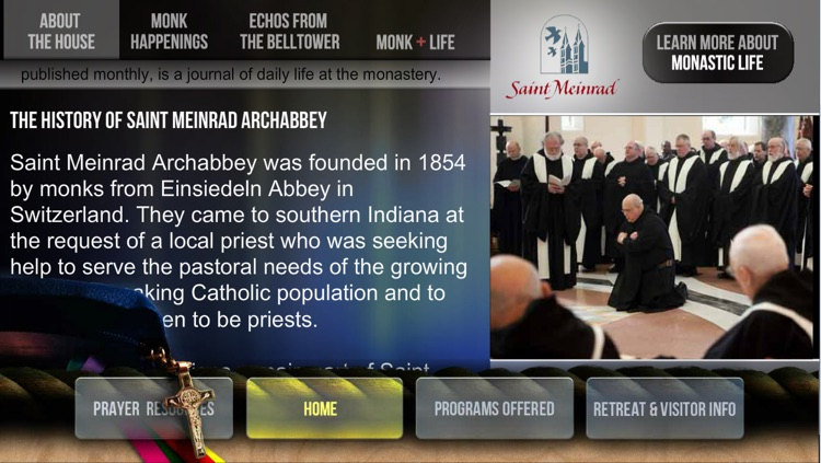 Saint Meinrad Archabbey Tour App screenshot-3