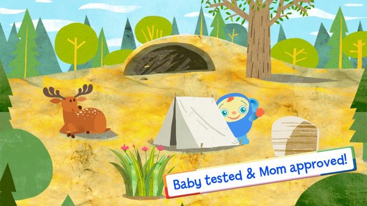 Peekaboo Goes Camping Game by BabyFirst screenshot-3