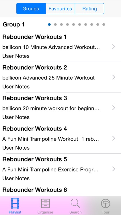 Rebounder Workouts