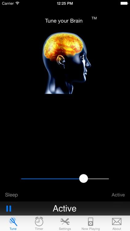iBrainWave - Binaural Beats and White Noise screenshot-3