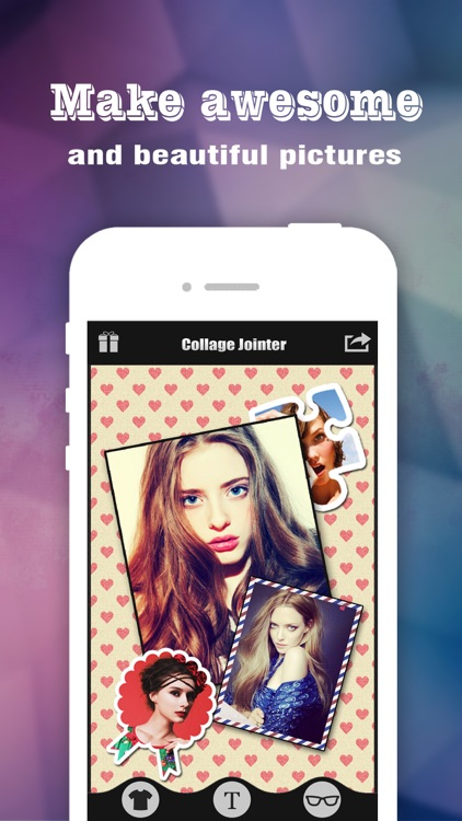Collage Jointer Pro - Photo Editor to add art text, frame, border & sticker on pic