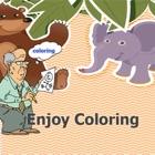 Desfrute de colorir jogo livro para crianças icon