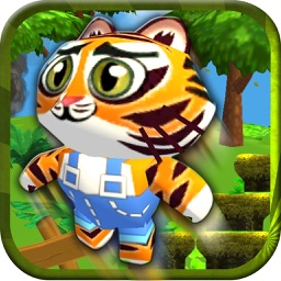Baby Pet Run - Crazy jump in jungle free game for fun adventure