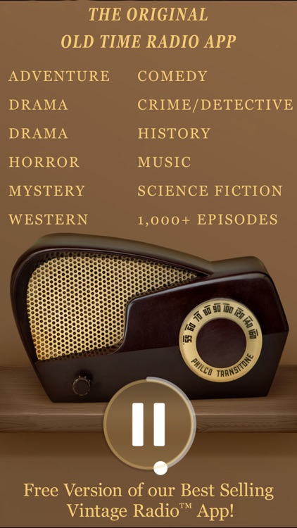 Vintage Radio Lite screenshot-0