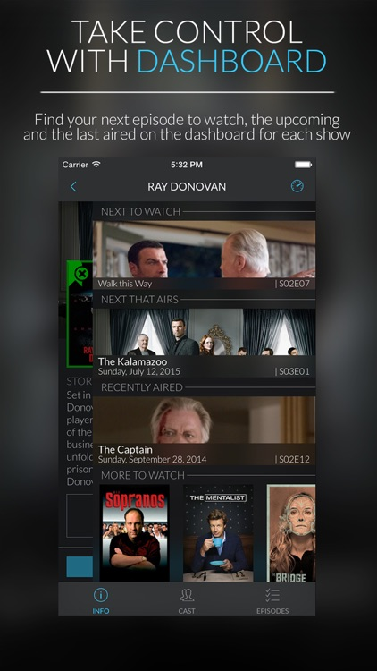ShowTrack - Find, manage and track TV shows screenshot-3