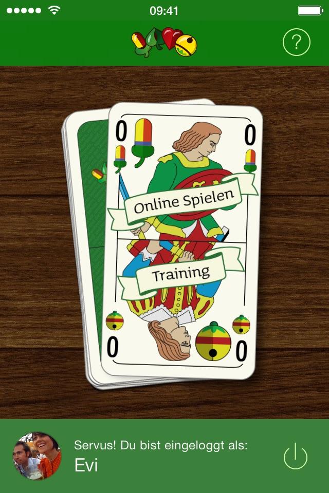 Online Schafkopf Tutorial